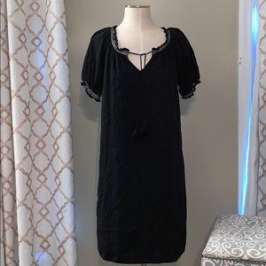 Old Navy Black Dress with Slip